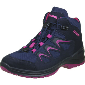 Lowa Innox Evo GTX Chaussures Enfant, navy/berry